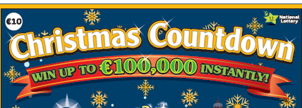 The National Lottery - Christmas Countdown Banner